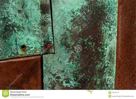 patina roest rost rust groen metaal stockfotos kunst surface