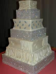 gorgeous wedding cakes wedding cake bling beautiful cakes that sparkle shine ideal pr media