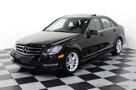 2014 Used Mercedes-benz C-class Certified C300 4matic