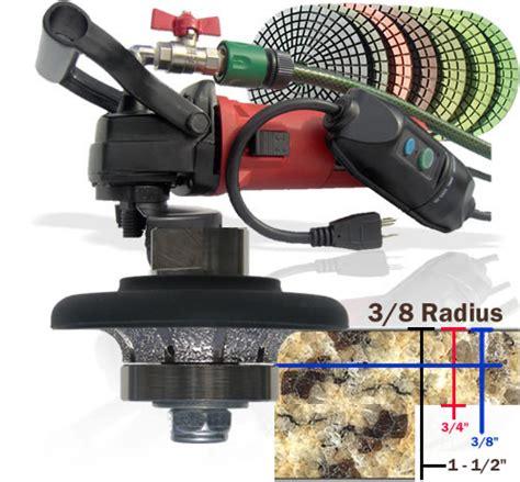 granite tools secco 3 8 quot radius bullnosing granite