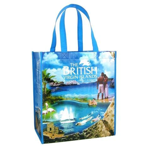 Custom Made Laminated PolyPro Tote Bag, Promo tote bags