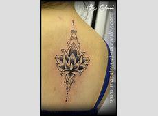 Tatouage Fleur De Lys Dans Le Dos Printablehd