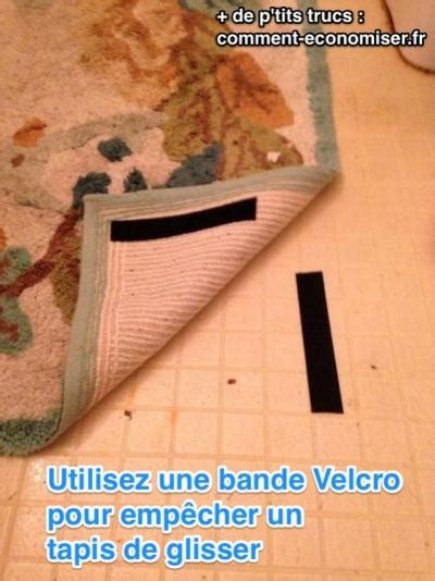 tapis qui glisse sur le parquet ou carrelage 2 astuces efficaces
