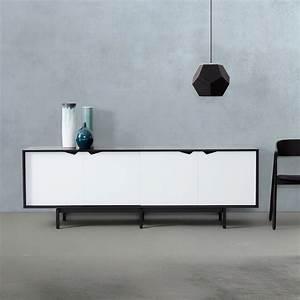 Sideboard Badezimmer Weiß : s1 sideboard einfarbig von andersen furniture ~ Markanthonyermac.com Haus und Dekorationen