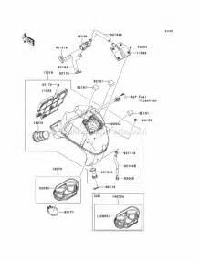 Kawasaki Ex650-cbf Parts List And Diagram
