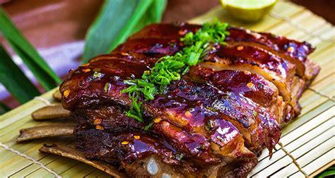 cuisine cup pina colada pork ribs recipe by plavaneeta borah ndtv food