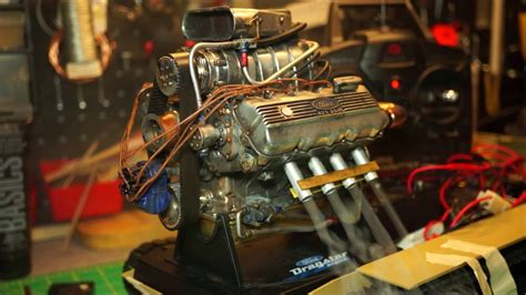scale liberty classics ford top fuel dragster engine