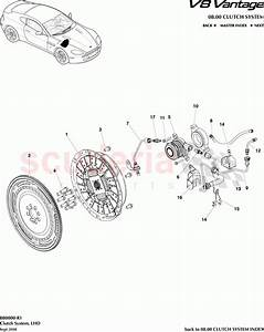 Aston Martin V8 Vantage Clutch System  Lhd  Parts