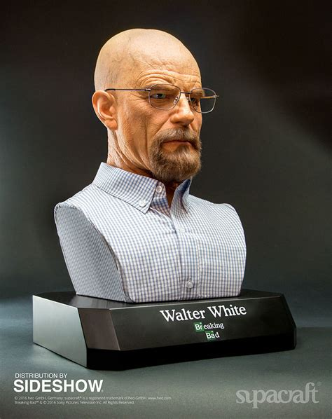 Breaking Bad Walter White Life-Size Bust by Supacraft