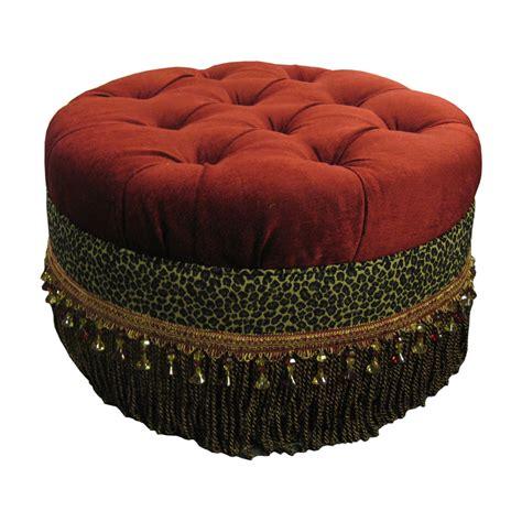 southwestern furniture tufted ottoman
