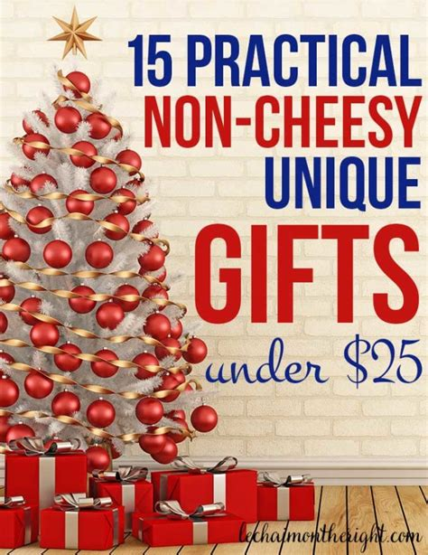 practical unique  cheesy gifts