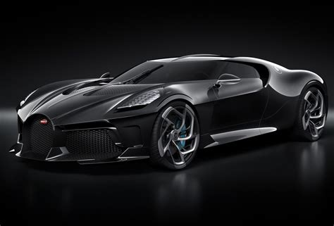 Bugatti's La Voiture Noire Car Just Sold For