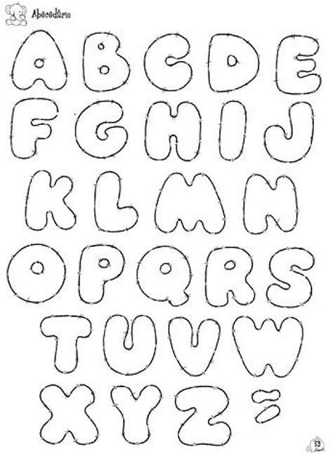 moldes de letras en foami para imprimir imagui