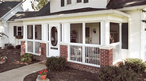 Porch Enclosures by Back And Front Porch Enclosure Ideas
