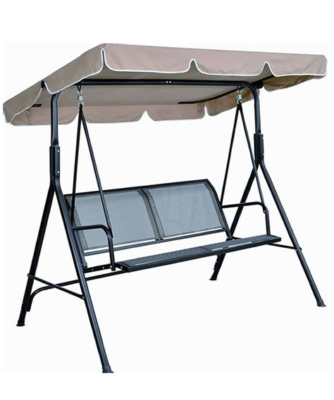 china 2 seater textilene swing chair hjsw 197 china