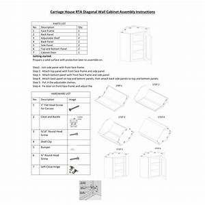 Kitchen Assembly Instructions Archives