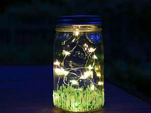 How to Make a Firefly Mason Jar Nightlight | DIY Network ...