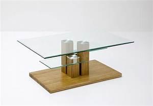 Couchtisch Eiche Glas : couchtisch eiche massiv glas ~ Whattoseeinmadrid.com Haus und Dekorationen