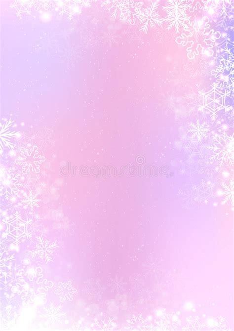 Purple Pastel Snowflake Background by Decora 231 227 O De Papel Da Beira Ilustra 231 227 O Do Vetor