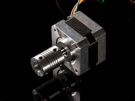 aluminum flex shaft coupler mm  mm