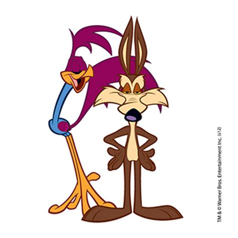 road runner  coyote looney tunes temporary tattoo