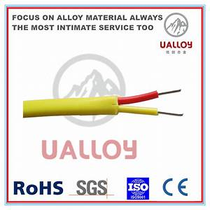 China Red Yellow K Type Thermocouple Cable  Wire