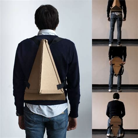 backpack chair on behance