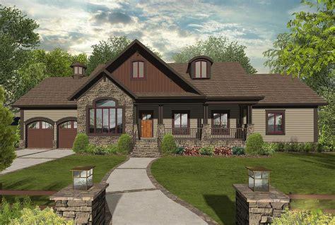 innovative  bedroom craftsman ranch home plan ga architectural designs house plans