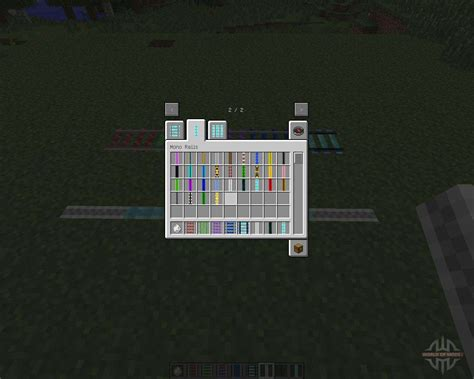 rails minecraft expanded mod different adds species colors game