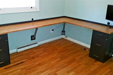 how to build an l shaped desk from scratch 17 diy corner desk ideas to build for your office