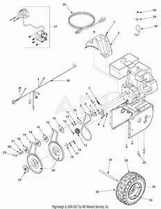 Mtd 31ae663g131  2003  Parts Diagram For Belt Drive