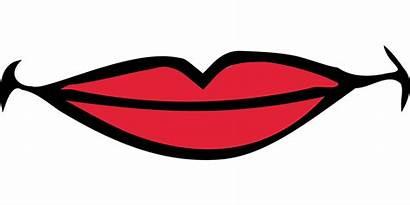 Mouth Smile Clipart Lips Smiling Boca Labios