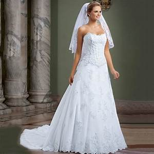 two pieces dress white lace appliques wedding dresses With wedding dresses with trains that detach