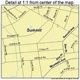 Summit New Jersey Street Map 3471430