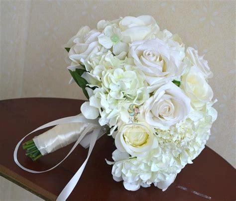 color diy wedding bouquet bride bouquet bridesmaid silk
