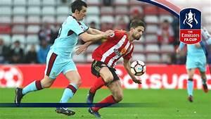 Sunderland 0-0 Burnley - Emirates FA Cup 2016/17 (R3 ...
