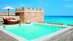 The unbelievable private pool in the honeymoon suite at for Sanctuary cap cana honeymoon suite