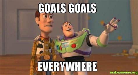 Goals Meme - nine steps for creating a white paper social media fanatics