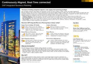sap integrated business planning  supply chain  pager