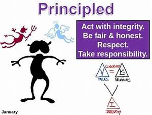 IB Learner Profile - 5 of 10 - PRINCIPLED... by Diane ...