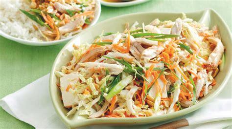 recettes de cuisine vietnamienne salade vietnamienne au poulet recette weight watchers