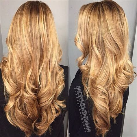 Gold Hair Colour by Hair Style Lovely Golden Color ℋair Color Styles In