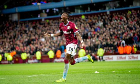 Aston Villa fans loved Abraham's goalscoring heroics in ...