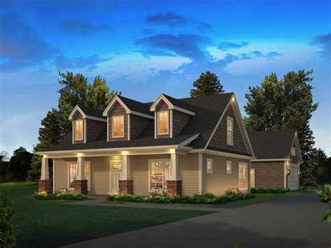 Lily Country Craftsman Home Plan 121d-0050