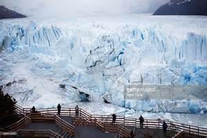 Argentina National Park Glaciers Melting