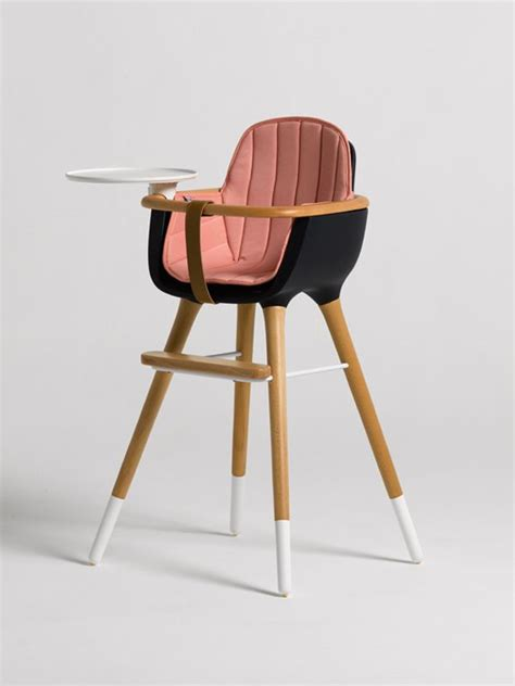 modern high chair the styled child