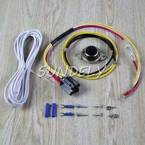universal car horn installation wire kit w button relay for ooga snail and disc ebay