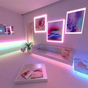 Neon Deco Chambre : apartment goals af grunge softgrunge tumblr alternative love beautiful indie ~ Melissatoandfro.com Idées de Décoration