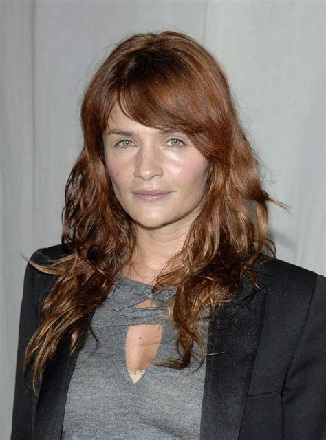 Helena Christensen Red Hair   POPSUGAR Beauty UK