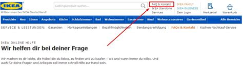 Ikea Hotline by Ikea Kontakt 220 Bersicht 187 Hotline Telefonnummer